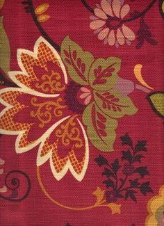 Happi Salsa - www.BeautifulFabric.com - upholstery/drapery fabric - decorator/designer fabric