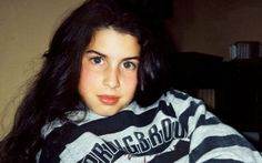 A young Amy Winehouse