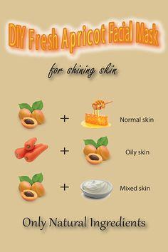 DIY Hydrating Apricot Face Mask