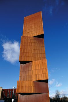 Education | Office | BENCHMARK by Kingspan | Karrier Engineered Facade System | Corten Steel | Copper | Wall | Facade