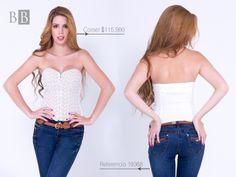 El corset es una prenda con historia, cargada de erotismo y glamour, es ideal para las mujeres de hoy, muy femeninas y seguras de sí mismas