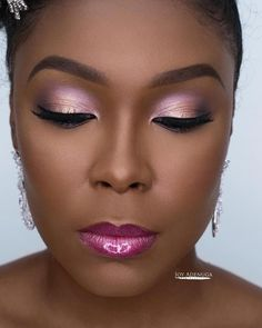 Make-up von Joy Adenuga Beauty-Sitzung mit meiner Muse @ 😘 Foto – Joy… Makeup by Joy Adenuga Beauty session with my muse @ 😘 Photo – Joy Adenuga. , , Products Used Anastasia Beverlyhills Brow Definer … Flawless Makeup, Gorgeous Makeup, Pretty Makeup, Love Makeup, Makeup Tips, Makeup Looks, Makeup Ideas, Makeup Geek, Black Girl Makeup