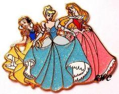 DISNEY PINS | Snow White • Cinderella • Aurora