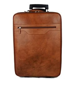 travel bag trolley overnight Leather weekender ba leather fqT5xwE
