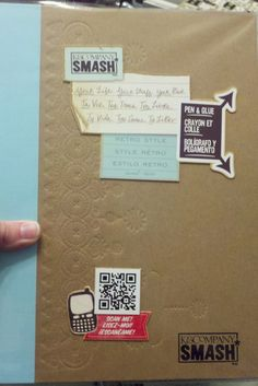 SMASHbooking, the new way to scrapbook #DIY #scrapbooking #journal