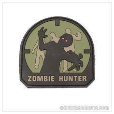 Zombie Hunter Morale Patch - PVC