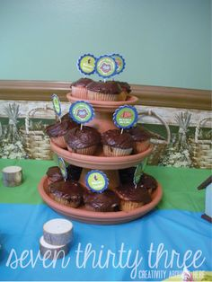 CAMPING THEMED BABY SHOWER - FINAL POST - seven thirty three