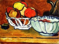Basket of Fruits - Louis Valtat