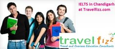 Travel Fizz located in Chandigarh, provides the best platform for overseas education consultation . Its also provides with IELTS coaching to students in try-city,