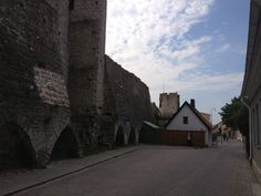 Part of the old Wall, Visby, Gotland, Sweden.