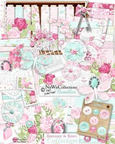 FQB - Romance & Roses Collection - Nitwit Kits - Nitwit Collections™