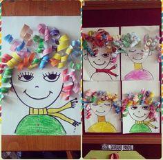 Kind Gifts: Creative Marathon – Challenge - Easy Crafts for All Kindergarten Art, Preschool Crafts, Crafts For Kids, Craft Kids, Kids Diy, Easy Crafts, Projects For Kids, Art Projects, Elementary Art