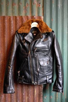 Buck j24 | leather pilot #jacket #fur
