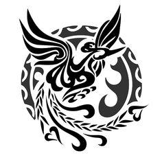 Celtic Tattoos phoenix | Hawaiian Flower Tattoo Designs