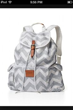 Chevron Victoria's Secret backpack