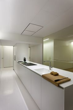 Kitchen - Antiguo Reino house in Valencia Spain by Fran Silvestre Arquitectos
