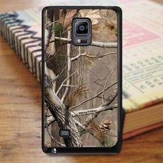 Camouflage Camo Realtree Samsung Galaxy Note Edge Case