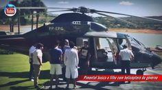 Pimentel busca o filho com helicóptero do governo