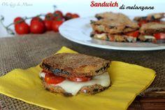 Sandwich di melanzane | Gli sfizi di Manu...in un Sol Boccone