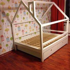 Детская ручной работы. Детская кровать домик Эйвинд. Кроватка ручной работы. Ansem_Store (Tanya&Bogdan). Ярмарка Мастеров. Домик кровать