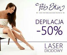 Fabskin promocja -50% na depilacje nog!
