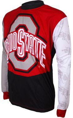 Ohio State Mountain Bike Jerseys, Mountain Biking, Jersey Boys, Ohio State Buckeyes, Cycling Bikes, Bmx, Sweatshirts, Long Sleeve, How To Wear