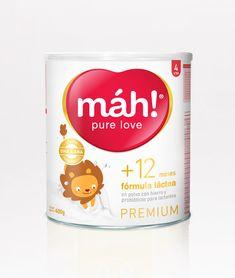 pure love — World Packaging Design Society / 世界包裝設計社會 / Sociedad Mundial de Diseño de Empaques Dairy Packaging, Kids Packaging, Packaging World, Food Packaging Design, Infused Water Bottle, Powdered Milk, Refreshing Drinks, Kids Nutrition, Branding