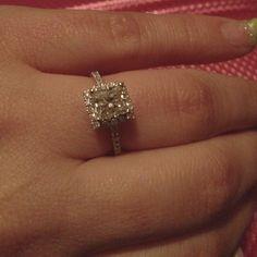 I got a beautiful ring :)