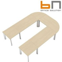 BN CX 3200 Conference Table Arrangement 5 To Seat 9 People  www.officefurnitureonline.co.uk