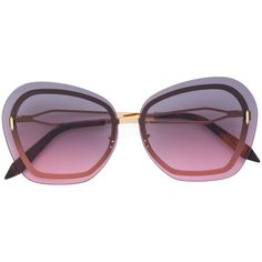 Victoria Beckham Phoenix sunglasses (1,675 PEN) ❤ liked on Polyvore featuring accessories, eyewear, sunglasses, metallic, victoria beckham eyewear, victoria beckham, stainless steel glasses, metallic sunglasses and pink sunglasses