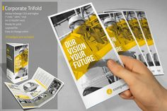 Corporate Trifold by Paulnomade on Creative Market
