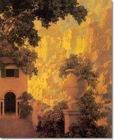 Maxfield Parrish - Sunrise 1931