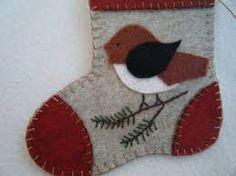 feltstocking ornaments - Google Search