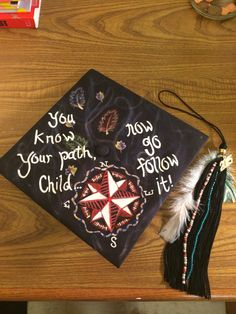 My Pocahontas-inspired graduation cap ! # GrandmotherWillow - Decoration For Home Disney Graduation Cap, Graduation Cap Designs, Graduation Presents, Graduation Cap Decoration, Nursing Graduation, Grad Gifts, High School Graduation, Graduation Pictures, Pocahontas