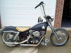 Photo Album: Parts, Pieces and Ideas Photo Album: Rat Rod Lifestyle Custom Harleys, Custom Bikes, Harley Davidson Motorcycles, My Ride, Motorcycles For Sale, Metal Working, Old School, Choppers, Rat Bikes