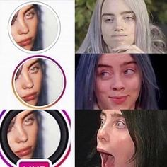 Billie Eilish Birthday, Funny Instagram Memes, My King, Reaction Pictures, Me As A Girlfriend, Eyelashes, Celebs, Singer, Idol