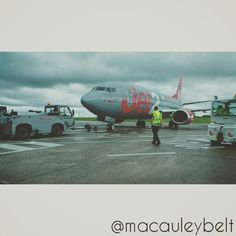 jet2.com 737-300 on stand. Leeds Bradford, Fighter Jets, Aircraft, Aviation, Planes, Airplane, Airplanes, Plane