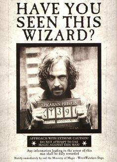 Wanted Poster Harry Potter