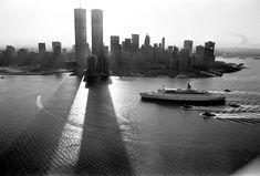 NYC, 1982. It looks like the end of a race and the finish line...