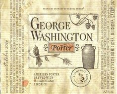 Samuel Adams George Washington Porter (2006)