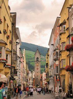 Vipiteno, Italy...quaint Italian town in the Alps...beautiful.