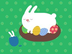 Happy Easter! by Denis Sazhin / Iconka