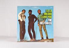 """The Delfonics """" La La I love You"""" LP"""