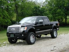 Ford F-150 lifted