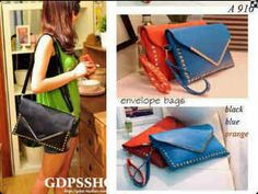 Jakarta 139.000 500g import type A 910 bahan soft sintetis leather good quality BLACK N ORANGE