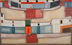 Jerzy Nowosielski 'Białe miasto' 1964 Hermes Oran, Belt, Sandals, Accessories, Shoes, Cards, Fashion, Belts, Moda