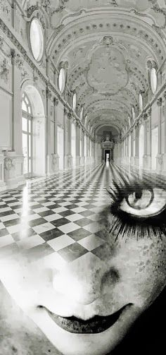 Looking Glass: #Alice and the #Chessboard, by Antonio Mora.