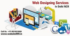 #Web_Designing_Services in Delhi NCR - As the leader in highly #specialized web designing services, #Website999 creates customized #website at affordable #prices. See more @ http://goo.gl/dZAuW7