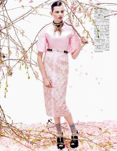 awesome Vogue Japão   Editorial Agosto 2013   Bette Franke por Sharif Hamza