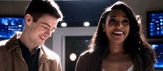 I don't care what happens. WESTALLEN FOREVER!!!! <3 <3 <3 <3 Oh, my cute little babies are in for so much anguish. :( But I have faith that this will happen someday. He'll always be Barry, and she'll always be Iris (no matter how many timelines he screws up) <3. Also: Iris, you show off that engagement ring, girlfriend! (gif from westallengifs on tumblr)  TV Shows  CW  #The Flash gifs  Season 3  3x15  The Wrath of Savitar  Barry Allen  Iris West  Grant Gustin  Candice Patton  #DCTV 